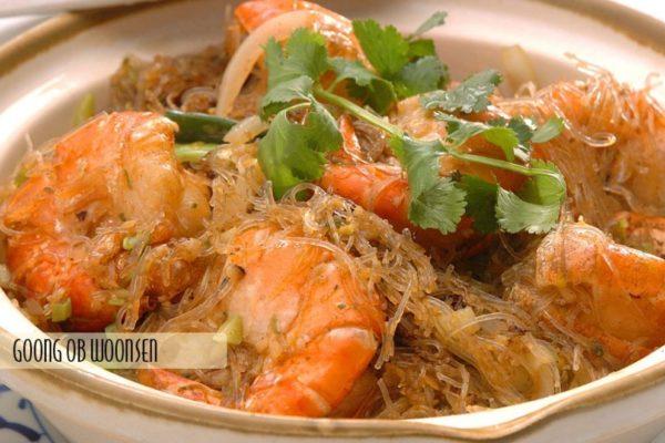 Jumbo Shrimp Silver Noodle - $18.95