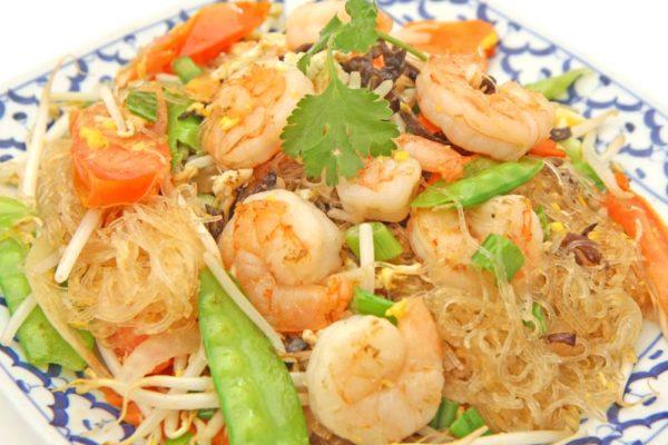 Pad Woon Sen w/Shrimp - $14.95