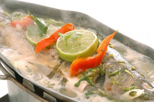 Steamed Fish w/ Lemon Sauce - $29.95
