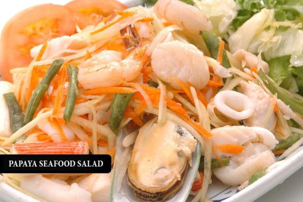 Seafood Papaya Salad - $16.95