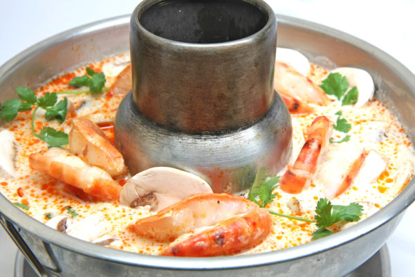 Jumbo Shrimp Coconut Soup (Hot Pot)- $18.95