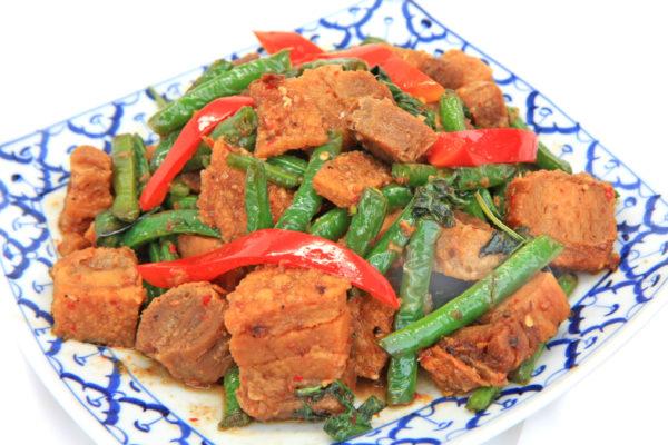 Crispy Pork with Spicy Basil Sauce - $15.95