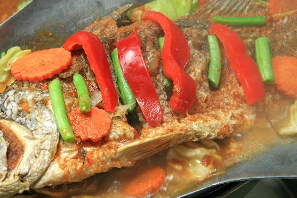 Fried Whole Fish w/ Tamarind Sauce - $29.95