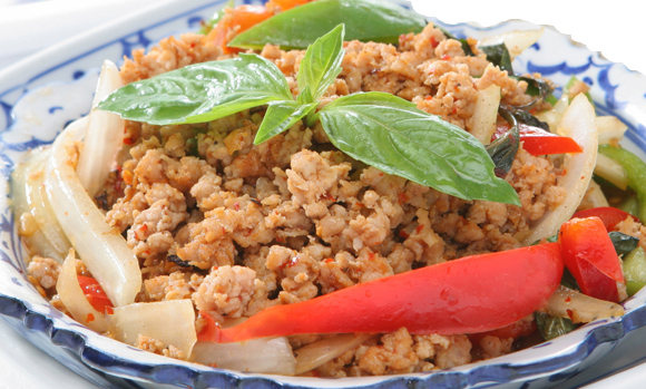 Basil Leaves with Ground Chicken - $14.95