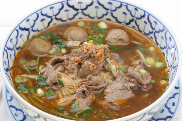 Beef and Meat Ball Noodle Soup - $10.99
