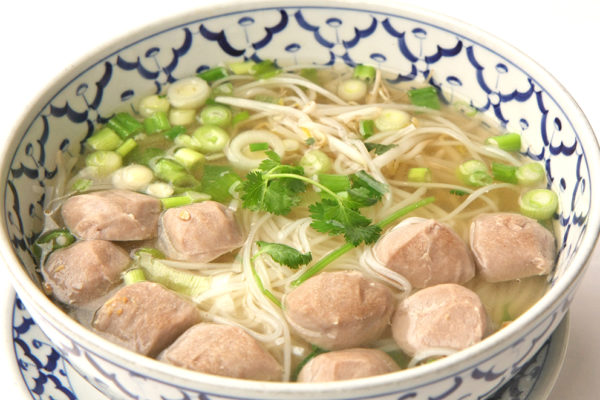 Meat Ball Soup in Clear Broth - $10.99