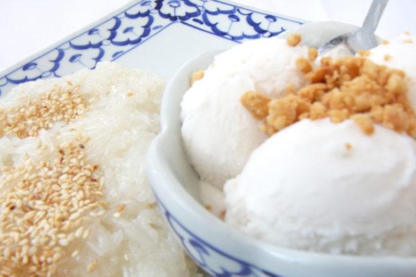 Sweet Rice with Ice Cream - $8.99