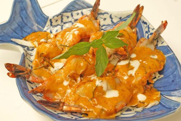 Jumbo Shrimp in Chu Chi Sauce - $18.95