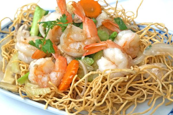 Koi See Mee w/Shrimp - $14.95