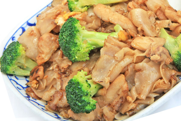 Pad See Ew with Chicken - $13.95